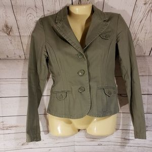 American Eagle Outfitters Olive Green Jacket
